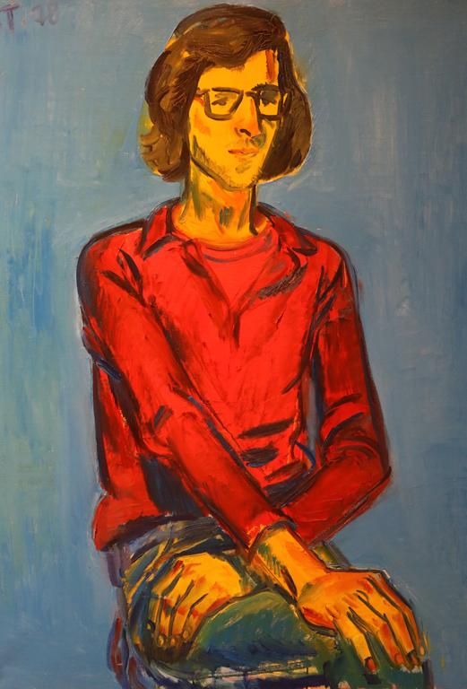 Димитър Томов, портрет на Цветан 1978г.