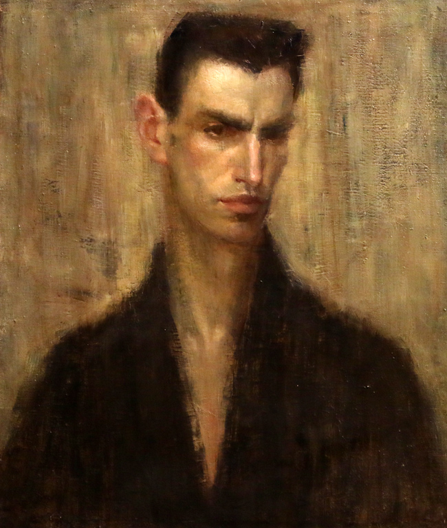 Иван Ненов, Автопортрет 1925г.
