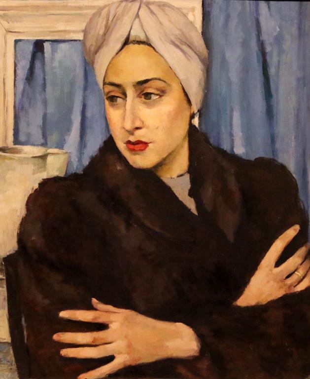 Екатерина Савова - Ненова, портрет на Живка Тодорова