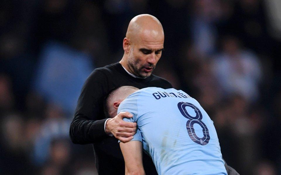 Мениджърът на Манчестър Сити Хосеп Гуардиола е подложен на остри