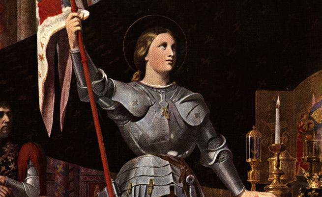 Героинята на цяла една нация - Жана д'Арк