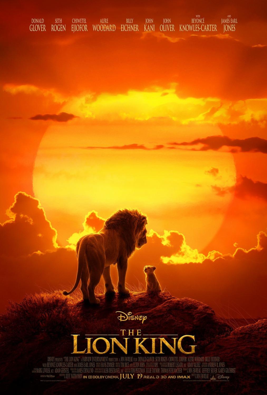 """The Lion King / """"Цар Лъв"""" – Премиерна дата: 19/07/2019; Режисьор: Джон Фавро; Участват: Доналд Гловър, Бионсе, Джеймс Ърл Джоунс"""