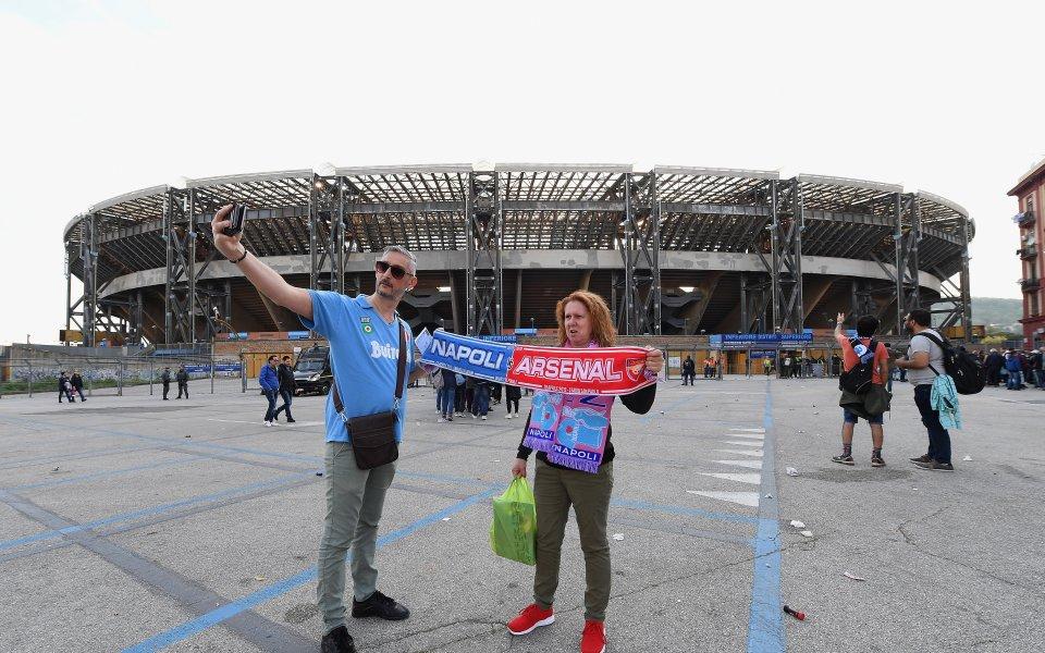 Снимка: НА ЖИВО: Наполи срещу Арсенал - съставите