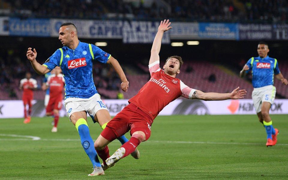Снимка: НА ЖИВО: Способен ли е Наполи на подвиг срещу Арсенал?