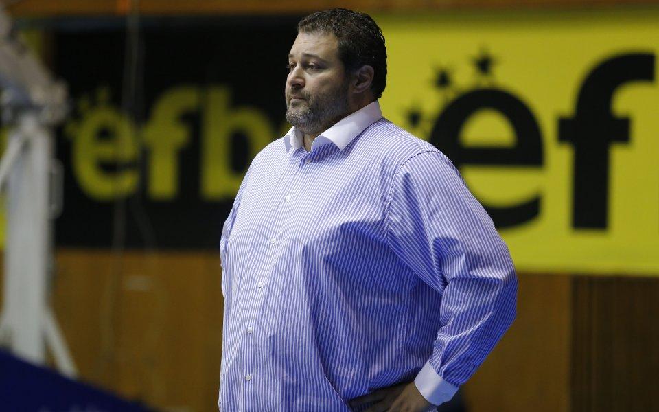 Снимка: Треньорът на БК Черно море: Благодаря на отбора ми, петима въобще не трябваше да се събличат
