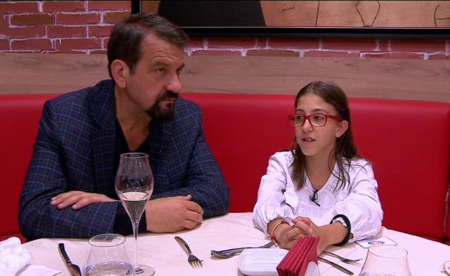 Ники Кънчев и дъщеря му Мари София за най-вкусното нещо в Hell's Kitchen