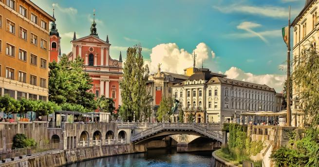 Снимка: Любляна - малката чаровна столица на Словения