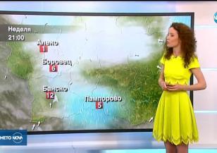 Прогноза за времето (21.04.2019 - обедна емисия)