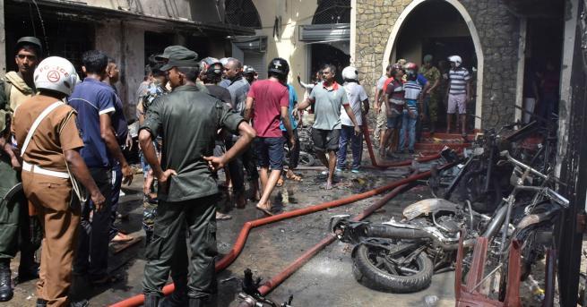 Снимка: Световни лидери заклеймиха терора в Шри Ланка