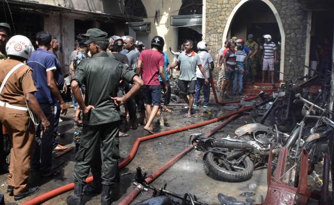 Световни лидери заклеймиха терора в Шри Ланка