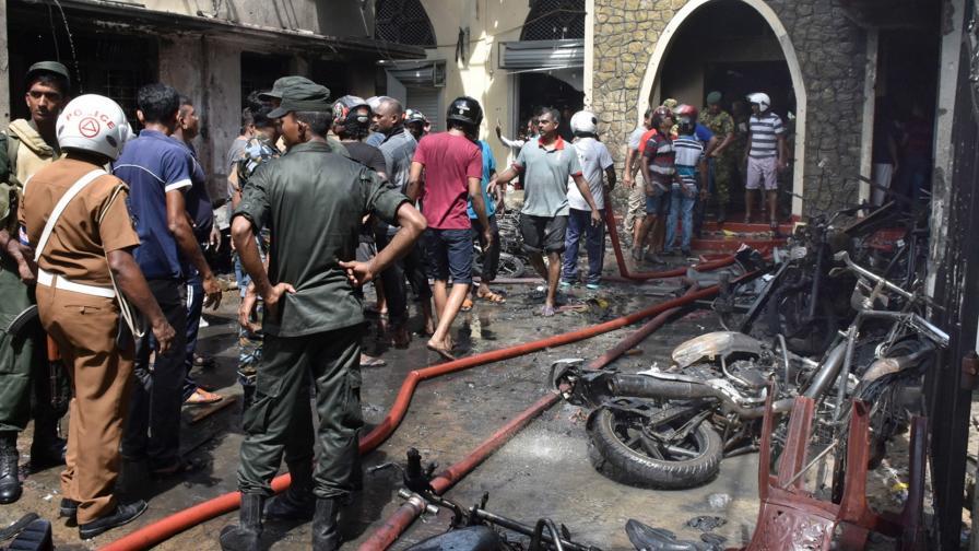 <p>Световни лидери заклеймиха терора в Шри Ланка</p>