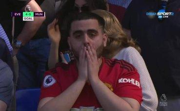 Унижението от Евертън за Юнайтед не стихва