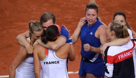 Франция се класира за финала на Фед къп