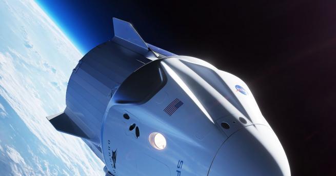 Снимка: Капсулата за пътници на SpaceX се взриви при тестове