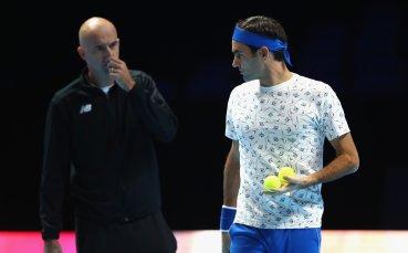 Треньорът на Федерер: Той все още е гладен за трофеи
