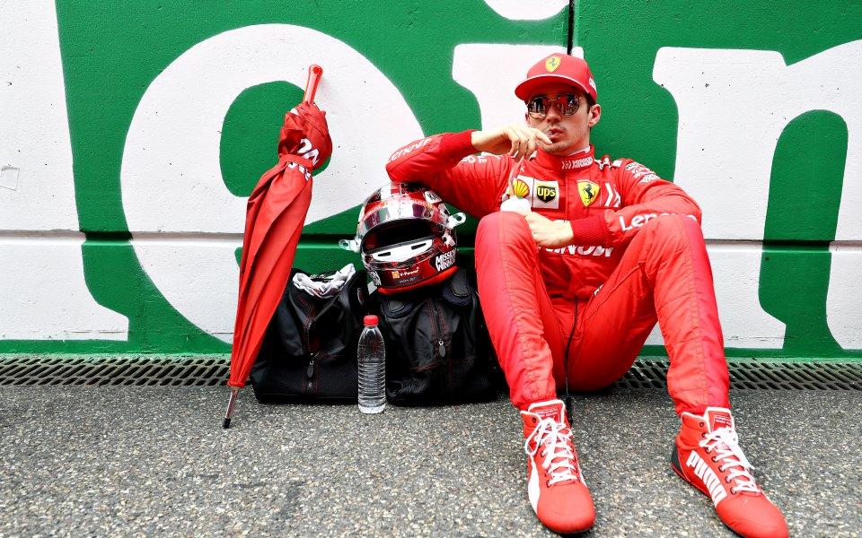 Пилотът на Ферари във Формула 1 Шарл Льоклер призна, че