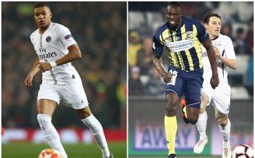 Мбапе по-бърз от Юсейн Болт при първия гол срещу Монако