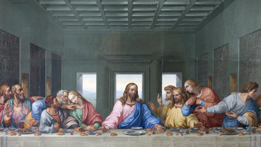 <p><strong>&quot;Тайната вечеря&quot;</strong> - едно от най-великите произведения на Леонардо</p>