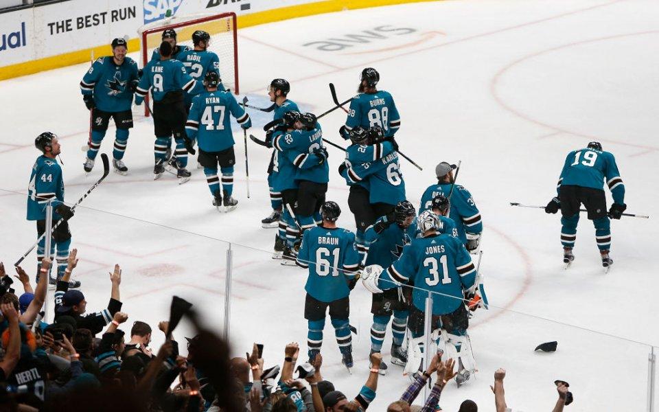 Сан Хосе и Бостън продължават напред в НХЛ