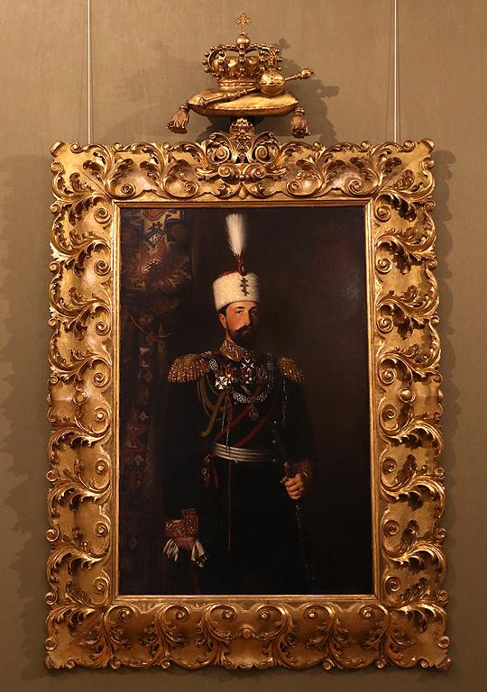 Конрад Дилиц Портрет на княз Александър I Батенберг, 1881г.