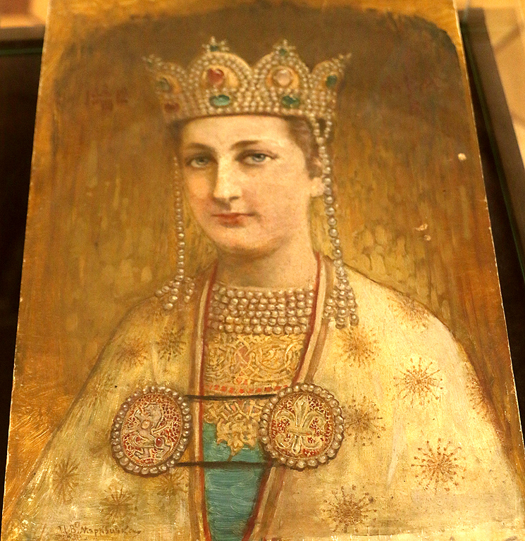 Иван Мърквичка Портрет на княгиня Евдокия, 1912г.