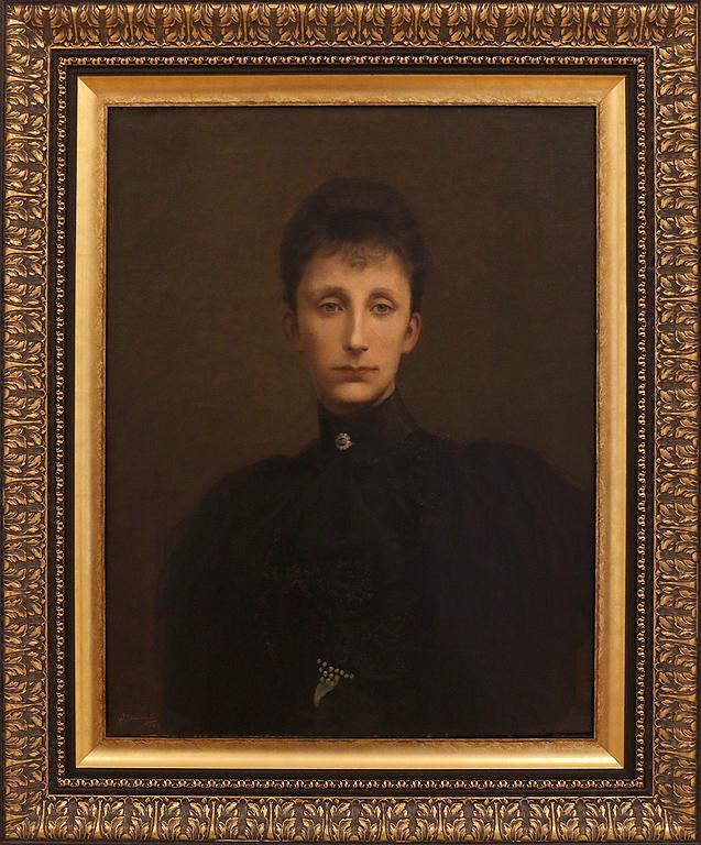 Иван Димитров Портрет на Княгиня Мария-Луиза. 1900г Част от колекцията на цар Фердинанд