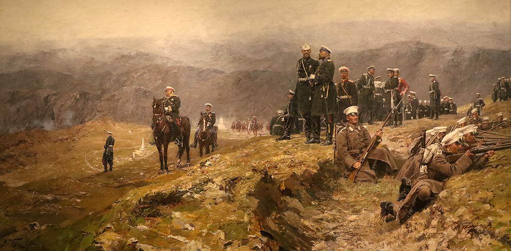 Ярослав Вешин Маневри, 1902г. Част от колекцията на цар Фердинанд