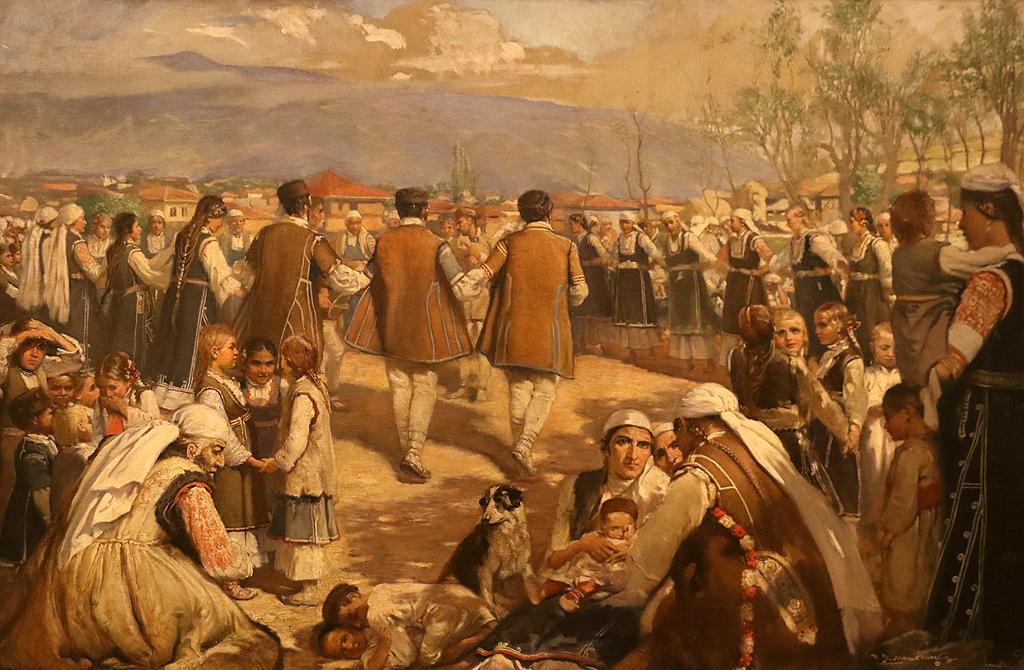 Иван Мърквичка Шопско хоро 1892г.
