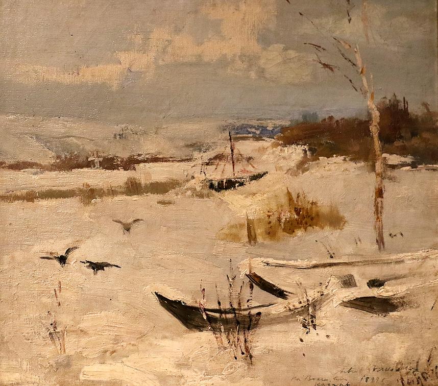 Асен Белковски На Волга 1899г.