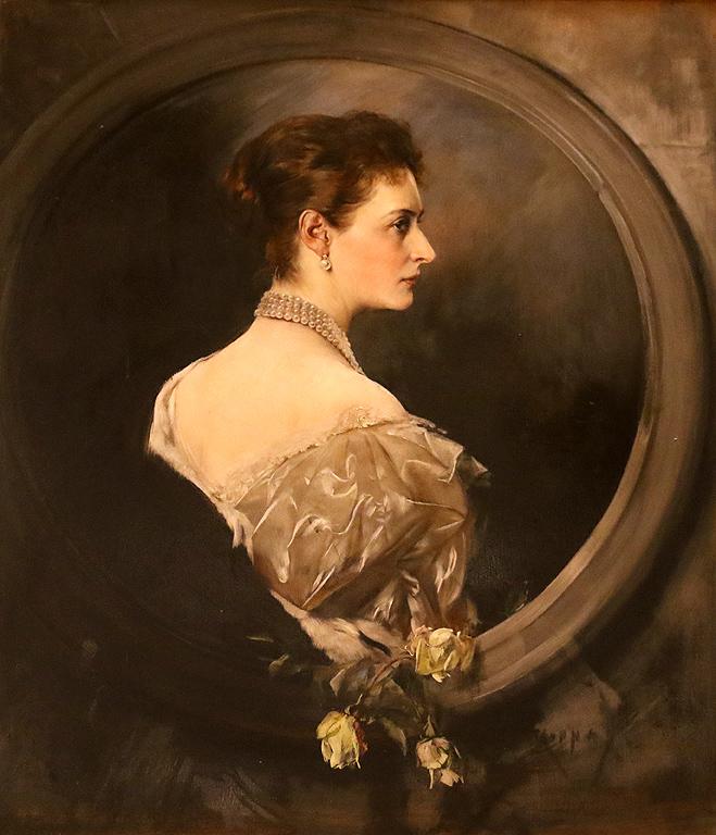 Йосци Арпад Копай Австрия Портрет на Царевна Мария Александровна