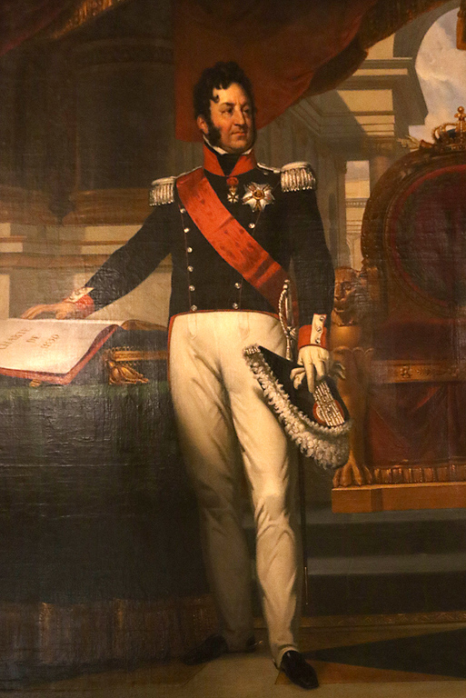 Неизвестен копист Луи Филип I, крал на Франция