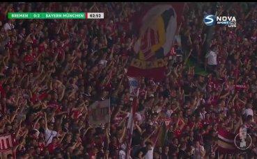 Байерн Мюнхен с втори гол във вратата на Вердер