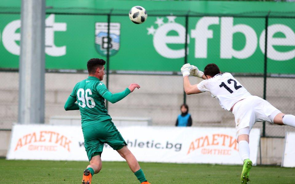 Вратарят на Верея Кристиян Кацарев беше избран за Играч на