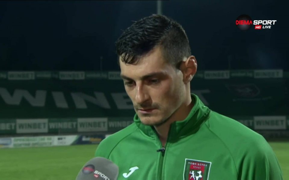 Полузащитникът на Ботев Враца Георги Вълчев бе избран за играч