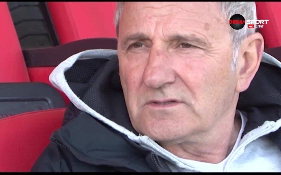 Старши треньорът на Царско село Никола Спасов изрази своето задоволство