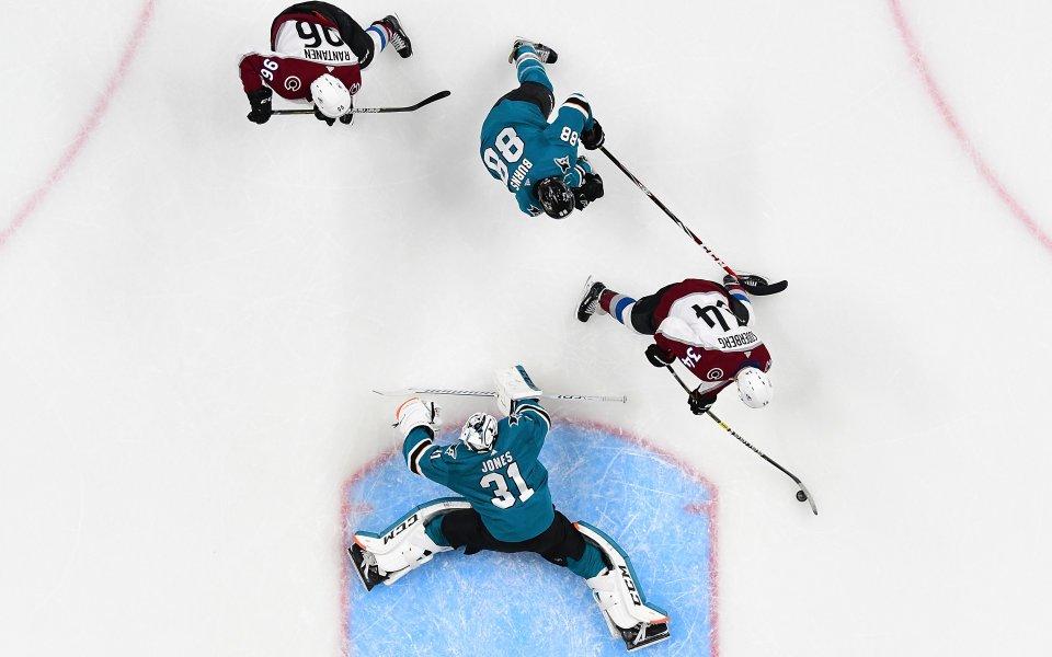 Каролина и Сан Хосе с победи в плейофите на НХЛ