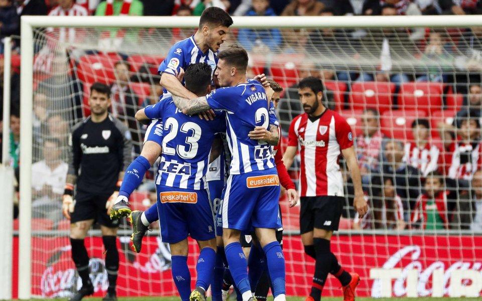 Алавес откри сезона с домакински успех