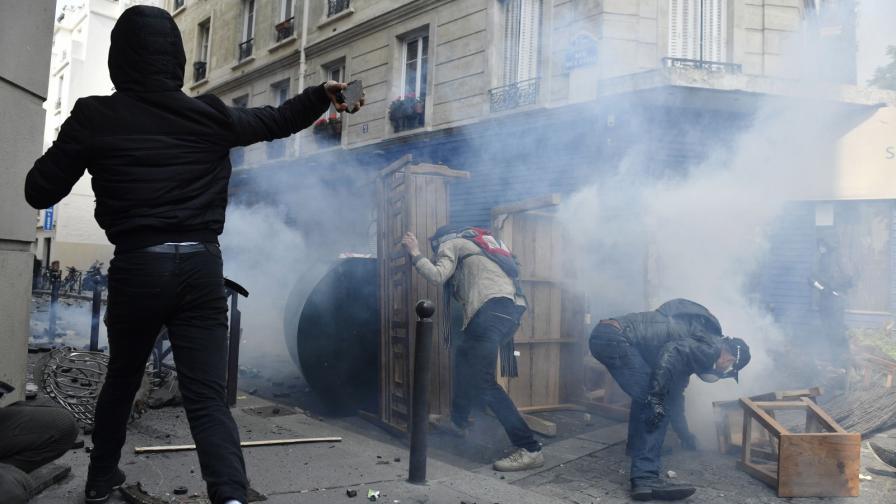 1 май - сблъсъци в Париж, без транспорт в Гърция
