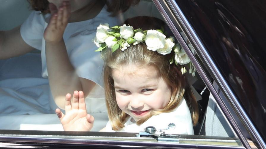 <p>Очарователни<strong> нови снимки</strong> на принцеса Шарлот</p>