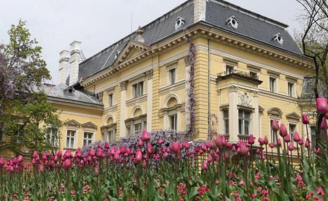 Царският дворец - една от перлите на София (СНИМКИ)