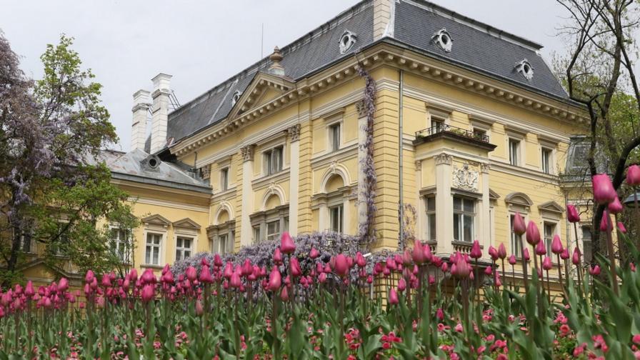 <p><strong>Царският дворец</strong> - една от перлите на София&nbsp;(СНИМКИ)</p>