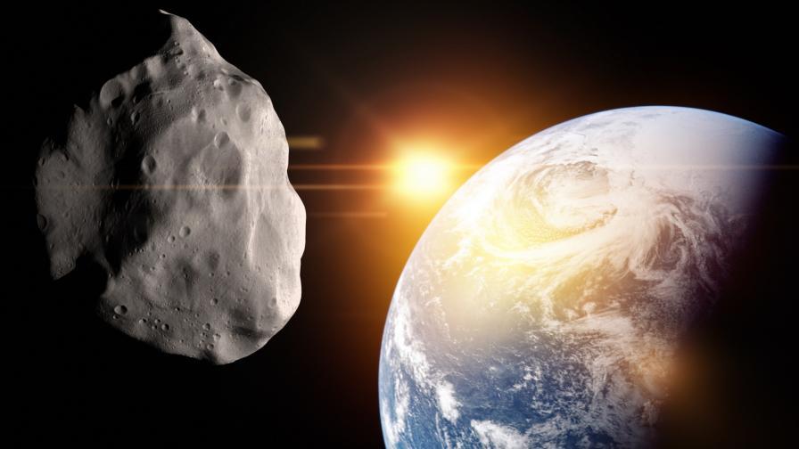 <p>Астероид, кръстен на бог на смъртта, приближава Земята</p>