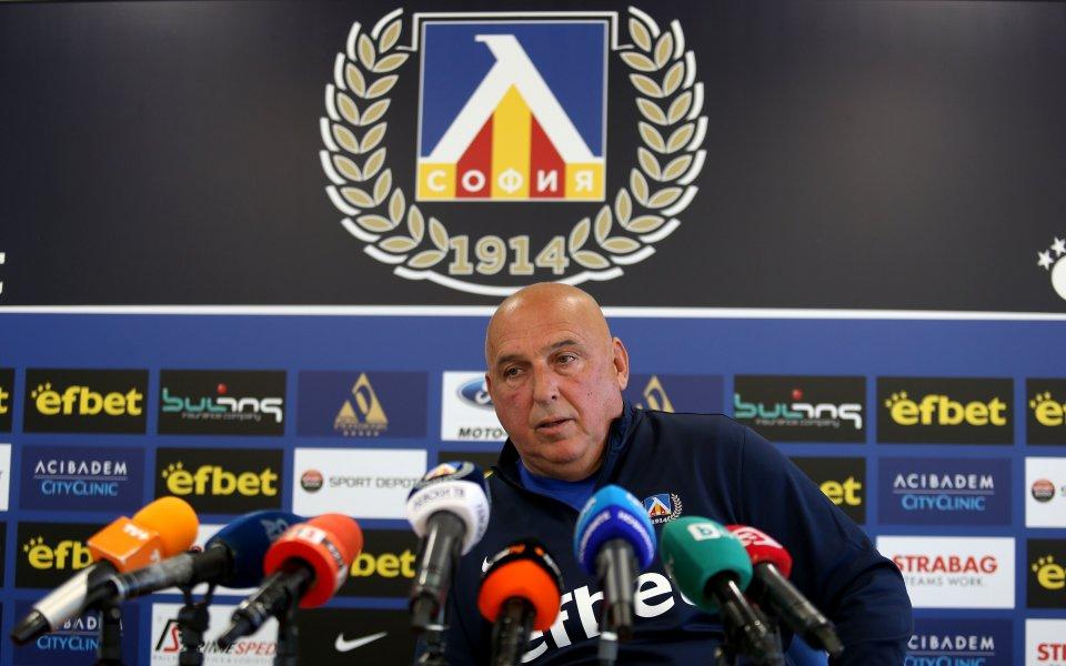 Снимка: Георги Тодоров: Ако треньор на Левски е този, за когото се пише, той е точният избор