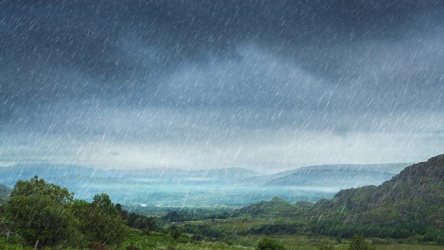 дъжд валежи