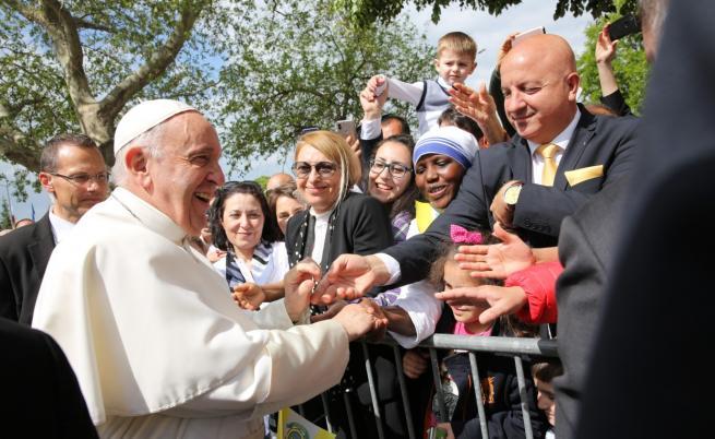 Папа Франциск: Господ е един нелечим оптимист, винаги се стреми да ни води напред