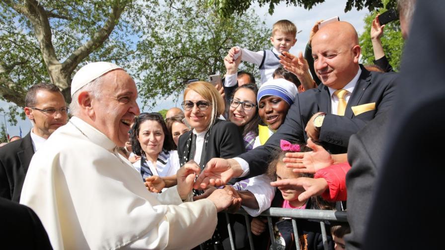 <p><strong>Папа Франциск</strong>: Господ е един нелечим оптимист, винаги се стреми да ни води напред</p>