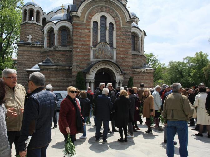 Днес се сбогуваме с бившия генерален директор на БНР Радослав Янкулов в столичния храм