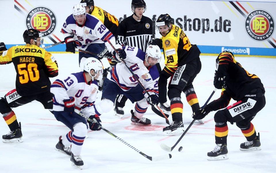 САЩ и Русия - фаворити на предстоящото Световно по хокей