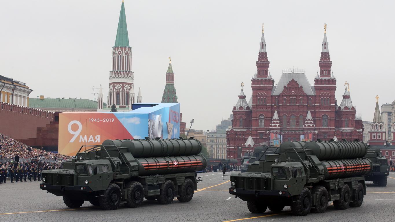 С-400 зенитно-ракетен комплекс с голям и среден обсег на действие, предназначен за противоракетна отбрана