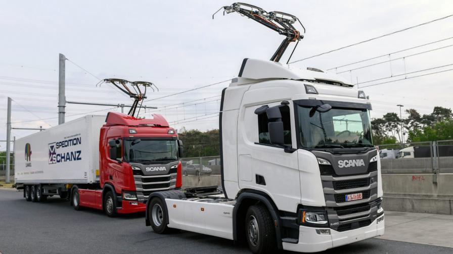 """<p>В Германия откриха първия """"електрически"""" аутобан</p>"""
